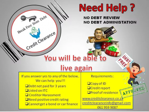 Credit Clearance services