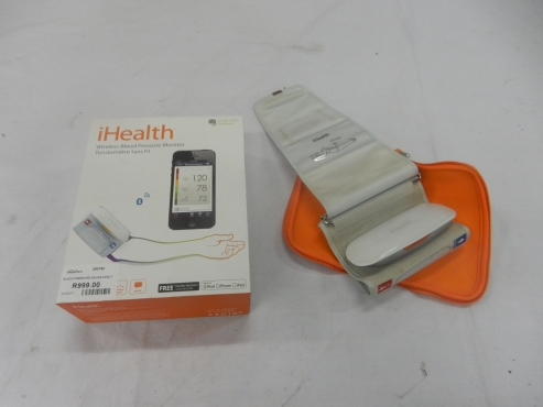 iHealth Blood Pressure Monitor