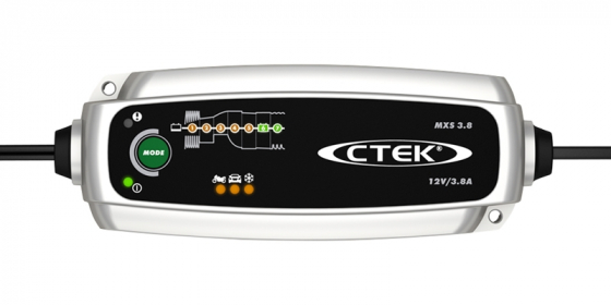 CTEK MXS3.8 - 12V 3.8A BATTERY CHARGER - Maiden Electronics