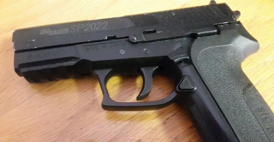 SIG Sauer SP2022 Co2 Gas Gun