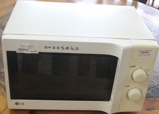 LG microwave S026584