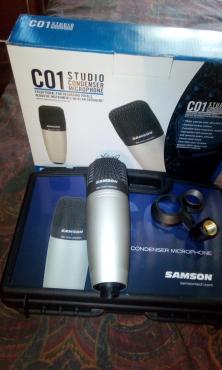 Samson CO1 Condenser Microphone & Accessories