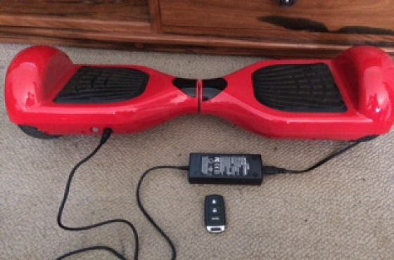 Urgent Sale: Hoverboard Red