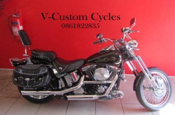 Very Nice EVO Softail with Springer Front End! | Junk Mail