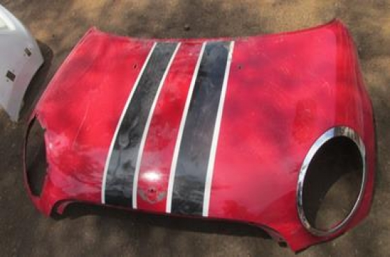 Mini Cooper Bonnet Red For Sale