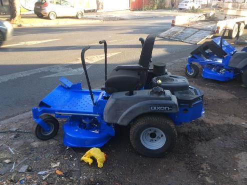 zero turn ride on mower