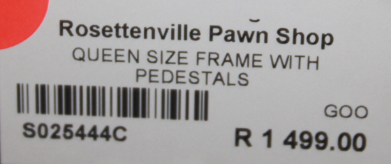 Queen size frame S025444c