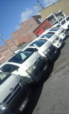 Toyota Quantum's 14 seaters Petrol