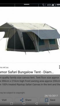Tenco twoo room bungalow.