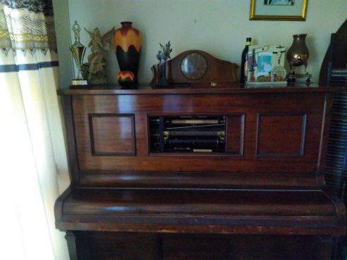 Antique Steck Pianola Piano for Sale