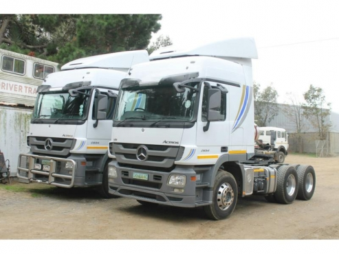 2013 Mercedes Benz Actros 2654LS/33 V8 6X4 TRUCK TRACTOR For Sale
