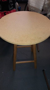 Round table for sale.