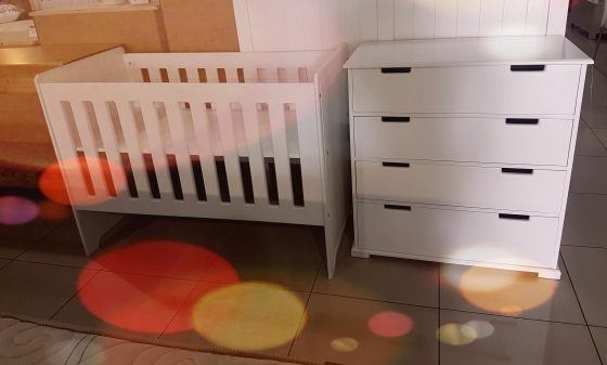 Affordable Baby Cot and Compactum Sur 27