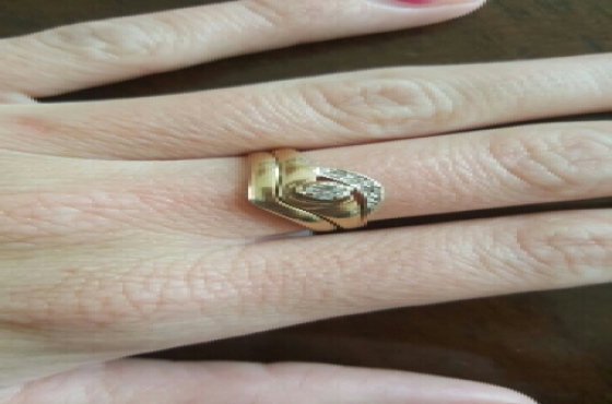 9ct gold rings.