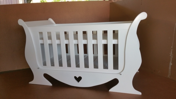 Heart Baby Cot and Compactum-R 4499,00 Sur 11