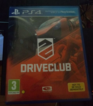 PS4 Game - DriveClub