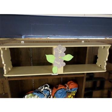 Flower book shelf