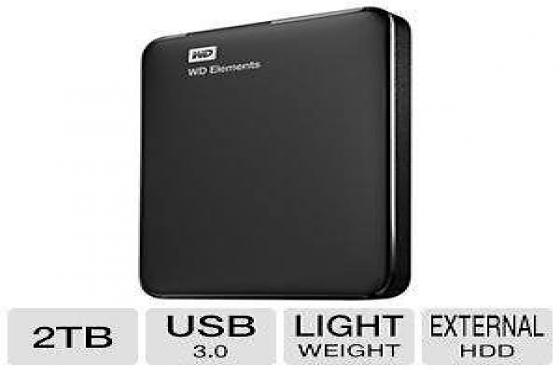 Hard Drive Portable USB3 WD 2Tbyte NEW