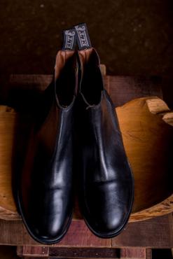 Genuine leather Jodhpur boots