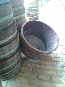 Half Wine barrels for sale