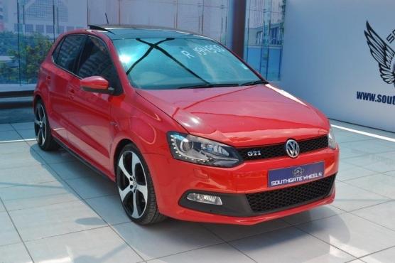 2013 Volkswagen polo GTI 1.4 TSI DSG