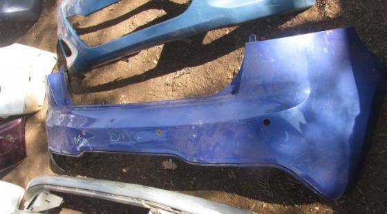 2014 Kia Rio Rear Bumper Blue For Sale