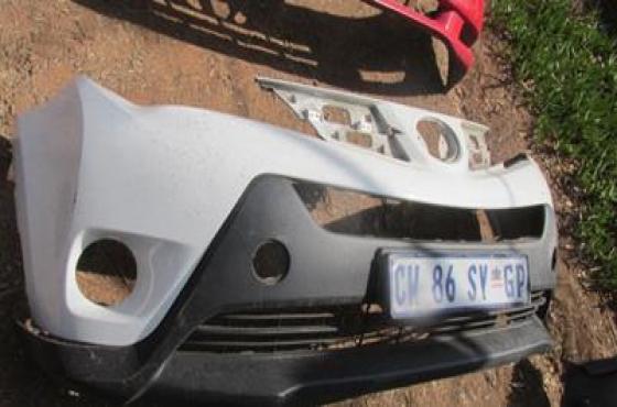 2013 Toyota Rav 4 Front Bumper White For Sale