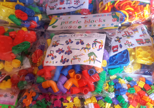 Educational blocks- 25 bags!