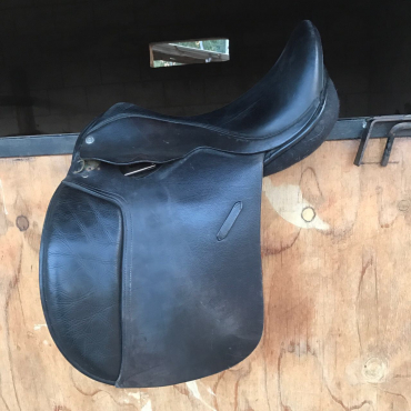Barrie Swain Dressage saddle - rare and hard to find, invaluable in any tack room