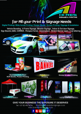 Printing & Signage services