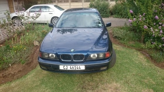 BMW 528i E39 manual transmission