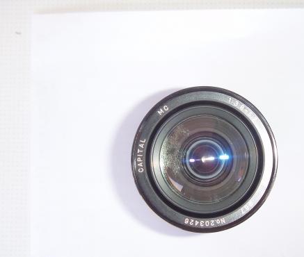 Capital  28 - 135mm - Macro -  Multicoated Zoom Lense - F3.8- 5.2 - Objectif Zoom