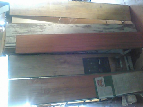 Laminate Wood Flooring - few boards left!