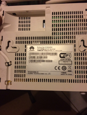 Huawei Routers and modems