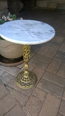 Marmer tafel