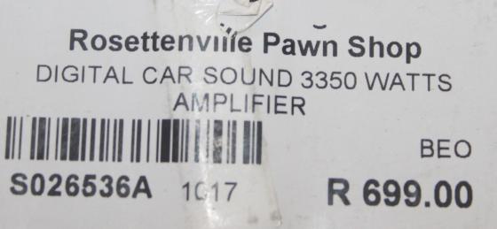 Digital star sound amp S026536a #Rosettenvillepawnshop