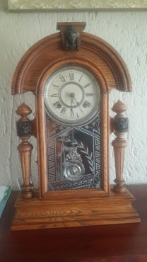 ANTIQUE CLOCK FOR SA