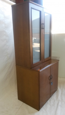 Wall unit glass door