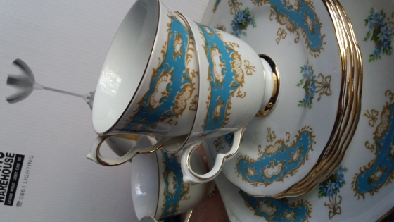 Queen Anne Bone China Tea Set