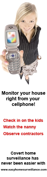 DIY Home Surveillance - Catch Thieves On Your Cellphone