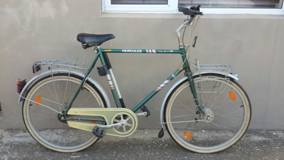 Hercules City Sport Bicycle from Germany going for R 5500. Retail value R10000