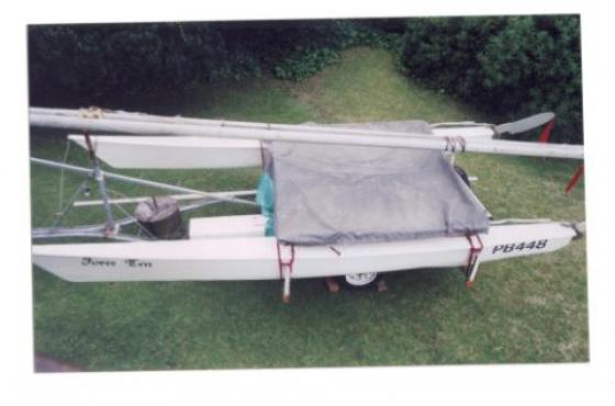 "Catamaran yacht for sale Natal built ""Force Ten"""