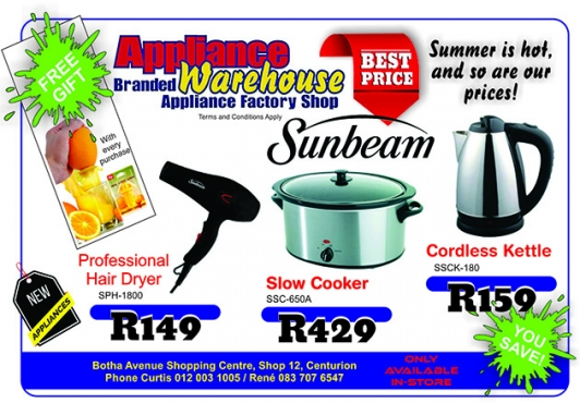 Sunbeam Specials