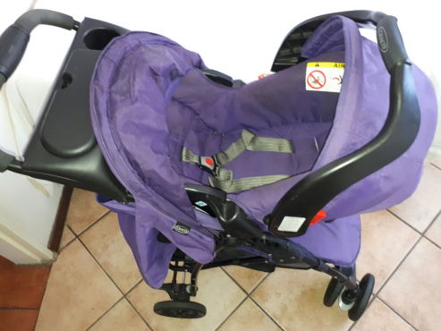 Graco Pram And Car Seat Chelino Camping Cot For Sale