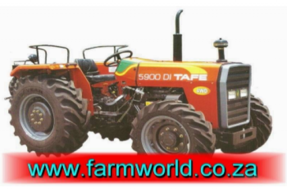 S336 Orange TAFE 5900 DI 45kW/60Hp 4x4 New Tractor