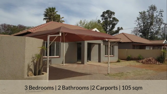 Amazing Value : 3 Bedroom House For Sale in Pretoria North
