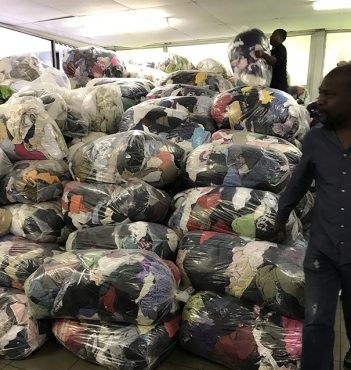Used clothing in bulk from R10 per kg