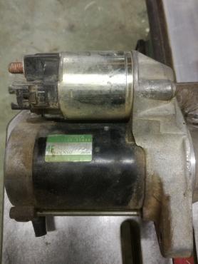 Prado 120 starter motor