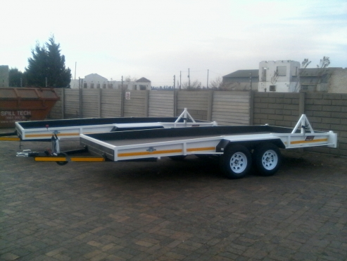 NEW 5M CAR TRAILERS.HOOK&GO