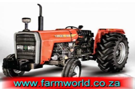 S338 Orange TAFE 7502 DI 55kW/74Hp 2x4 New Tractor
